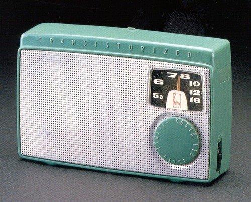 O Primeiro Rádio Transistorizado - A era do Transistor - Regency TR-1